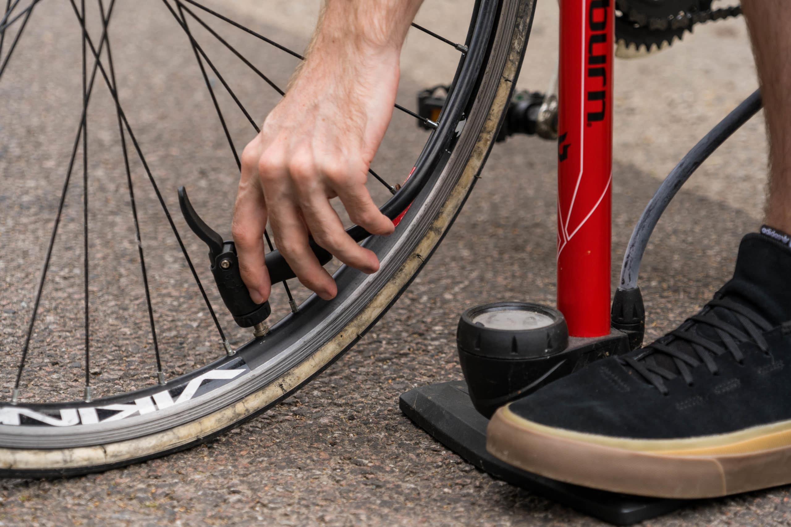 How To Use A Bike Pump 2